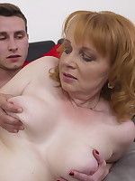 This horny housewife loves fucking and sucking