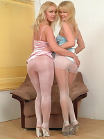 These lesbian pantymoms sure have a good time - Milf Nylon